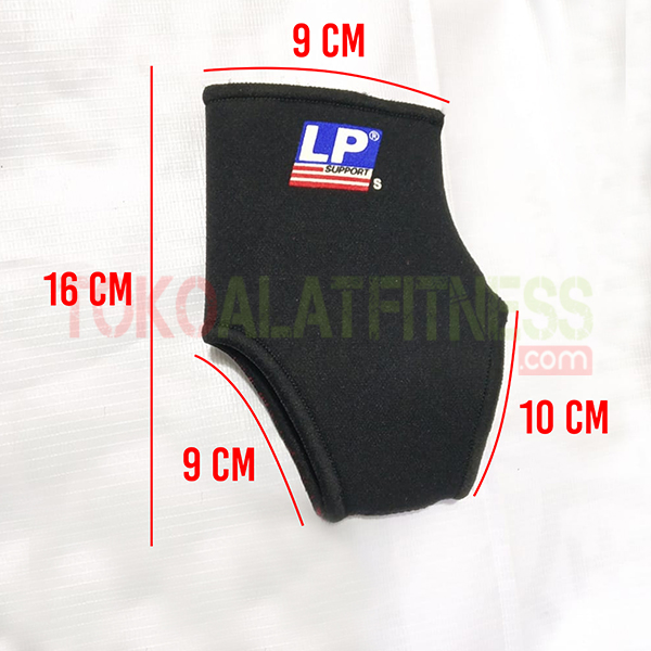 Ankle Support 704 S LP Support wtm - Ankle Support 704 L LP Support - ASSW31B