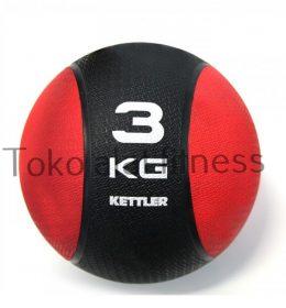 Medicine Ball Kettler 3kg Red 260x280 - Medicine Ball (Mendal) 3Kg