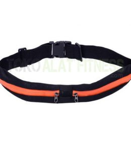 Running Belt Orange WTR2 260x280 - Body Gym Running Belt Double, Orange