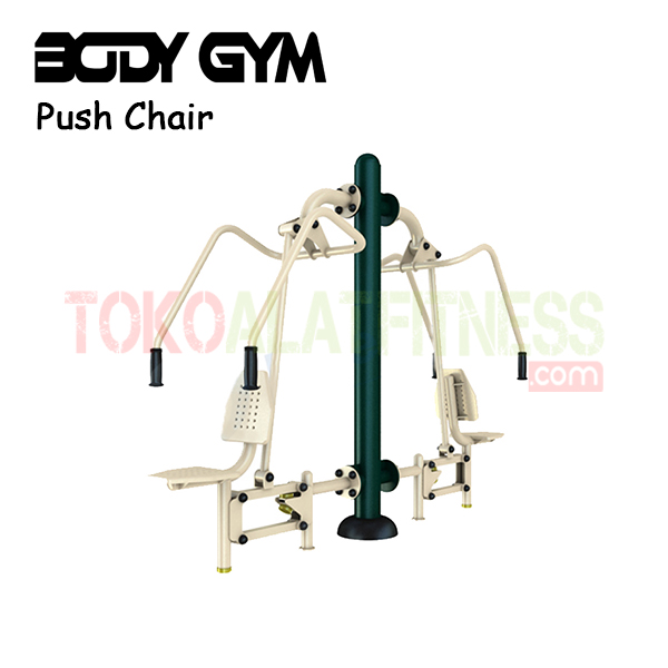 AFO 07 Alat Fitness Outdoor Push Chair - Alat Fitness Outdoor - Push Chair / Chest Press AFO-07 Body Gym