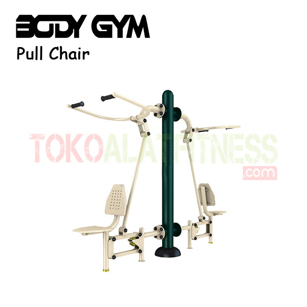AFO 12 Alat Fitness Outdoor Pull up Chair - Alat Fitness Outdoor - Double Pull Chair AFO-12 Body Gym