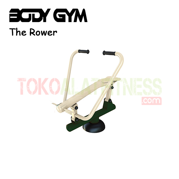 AFO 14 Alat Fitness Outdoor The Rower - Alat Fitness Outdoor – Rowing Machine AFO-14 Body Gym
