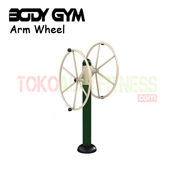 AFO 15 Alat Fitness Outdoor Arm wheel - Alat Fitness Outdoor - Double Arm Wheel AF0-15 Body Gym