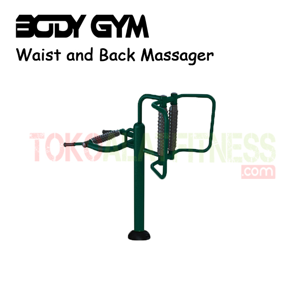 AFO 16 Alat Fitness Outdoor Waist and Back Massager 1 - Alat Fitness Outdoor – Waist and Back Massager AFO-16 Body Gym