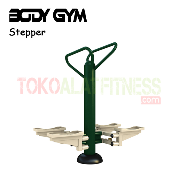 AFO 18 Alat Fitness Outdoor Stepper - Alat Fitnes Outdoor – Double Stepper AFO-18 Body Gym