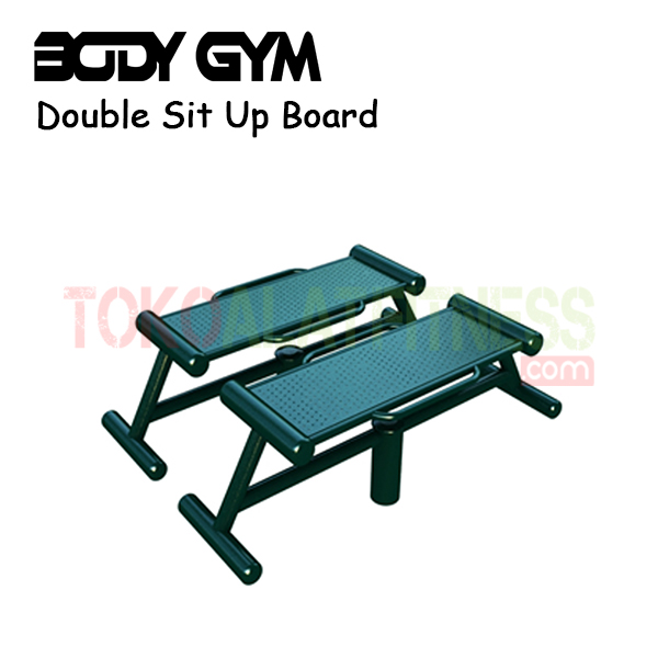 AFO 22 Alat Fitness Outdoor Double Sit Up Board B - Alat Fitness Outdoor – Double Sit-up Board AFO-22 Body Gym