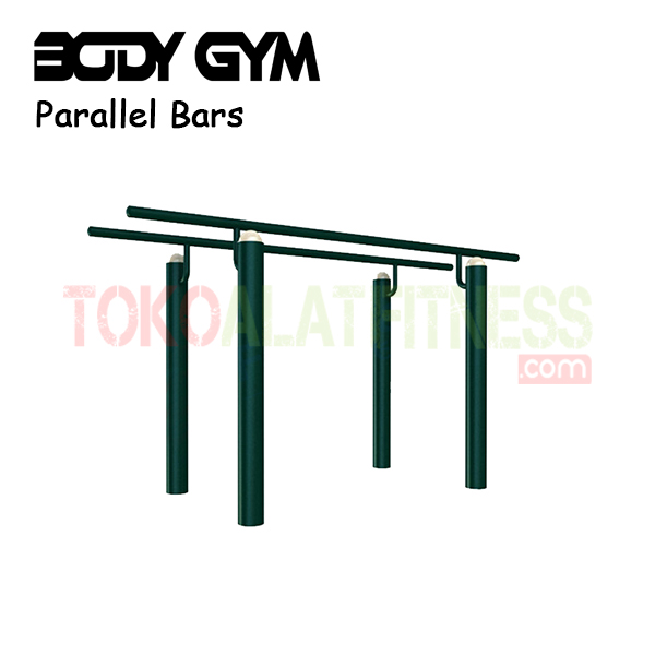 AFO 37 Alat Fitness Outdoor Parallel Bars 1 - Alat Fitness Outdoor - Parallel Bars AFO-37 Body Gym