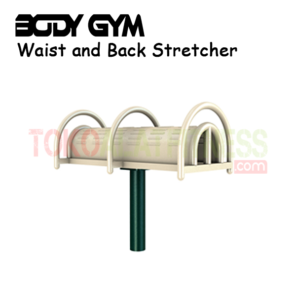 AFO 28 Alat Fitness Outdoor Waist and Back Stretcher - Alat Fitness Outdoor – Waist and Back Stretcher AFO-28 Body Gym