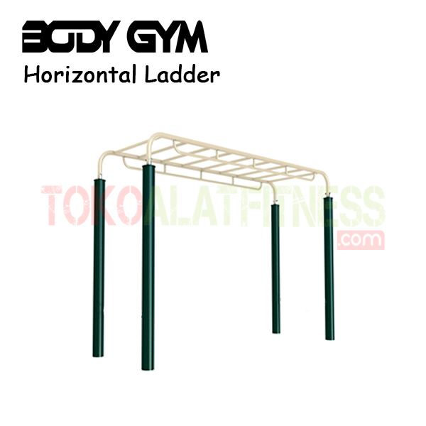 AFO 38 Alat Fitness Outdoor Horizontal Ladder 1 - Alat Fitness Outdoor - Horizontal Ladder AFO-38 Body Gym