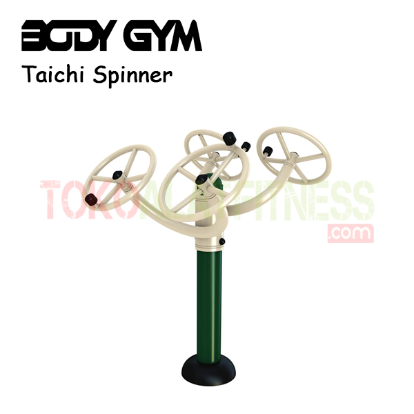 Alat Fitness Outdoor AFO 27 Taichi Spinner - Alat Fitness Outdoor - Taichi Wheel AFO-27 Body Gym
