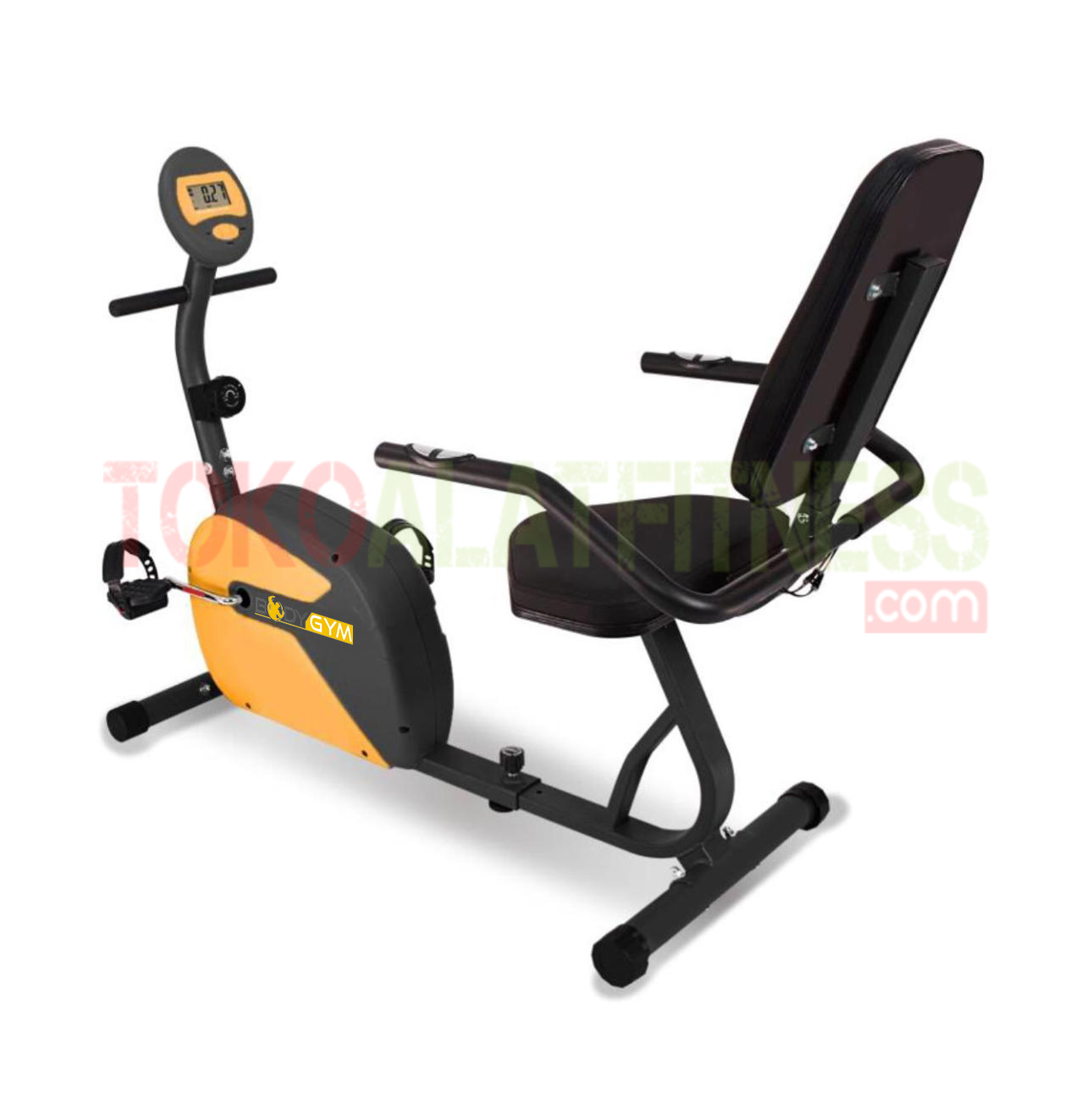 RECUMBENT BIKE BGD18 WTM - Sewa Recumbent Bike Body Gym