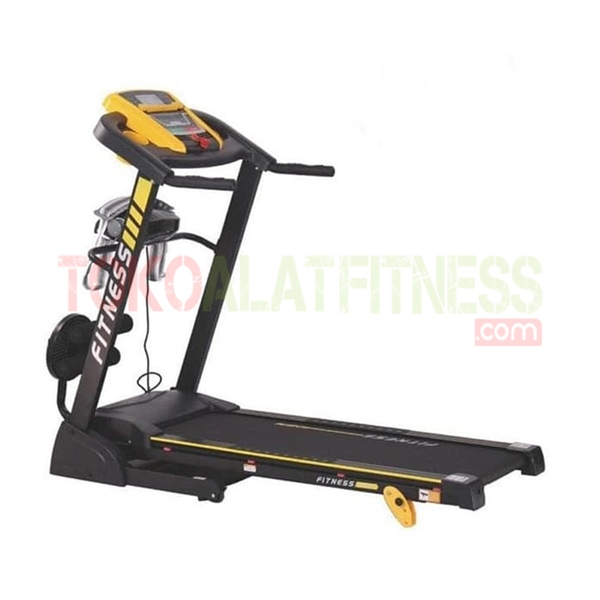 Treadmill BGD37M wtm 1 - Sewa Alat Fitness - Body Gym Treadmill 1.25 HP DC SBGD37M