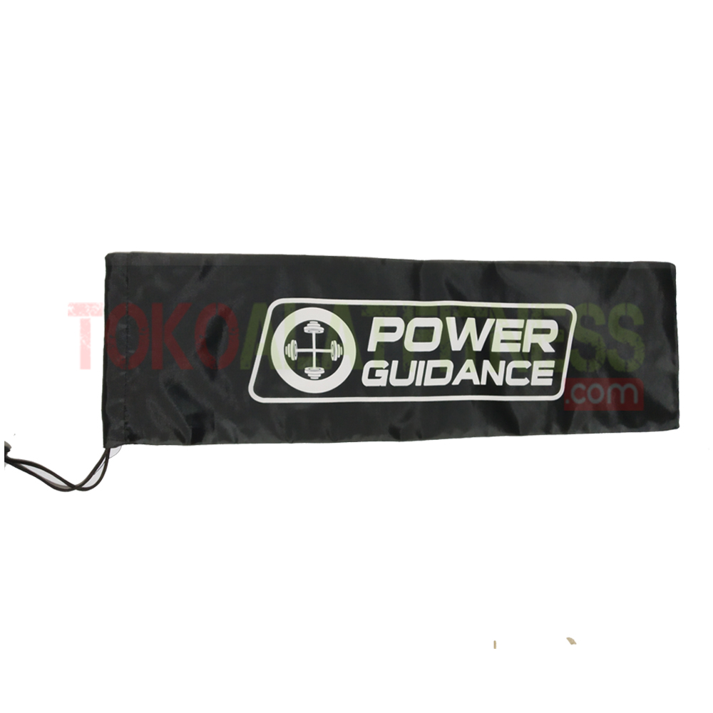BARBELL PAD FOAM POWER GUIDANCE HITAM 6 wtm - Power Guidance Barbell Pad Foam Hitam