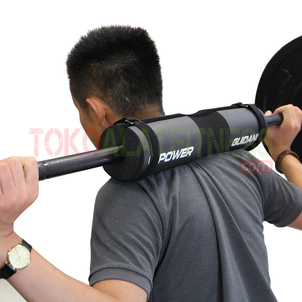 BARBELL PAD FOAM POWER GUIDANCE HITAM WORKOUT WTM - Power Guidance Barbell Pad Foam Hitam