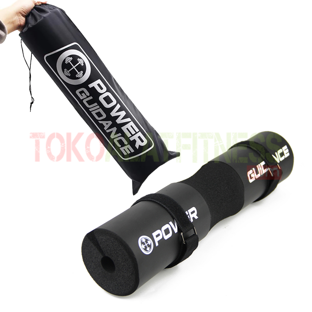 BARBELL PAD FOAM POWER GUIDANCE HITAM WTM - Power Guidance Barbell Pad Foam Hitam