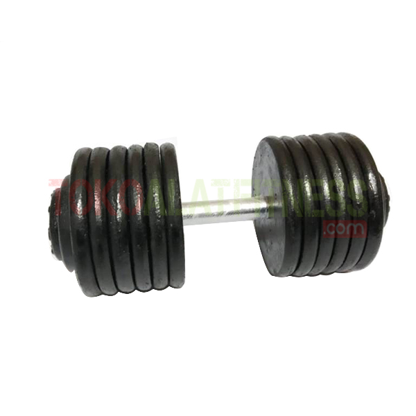 IRON FIX 40 KG 1 WTM - Dumbell Fix Iron 40kg Body Gym
