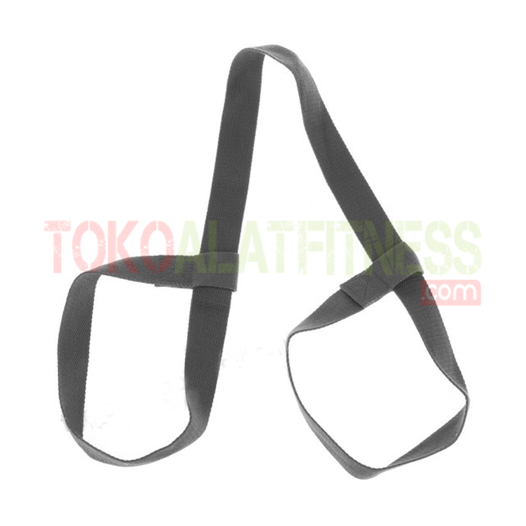 YOGA MAT STRAP GREY WTM - Yoga Mat Strap, Grey Body Gym