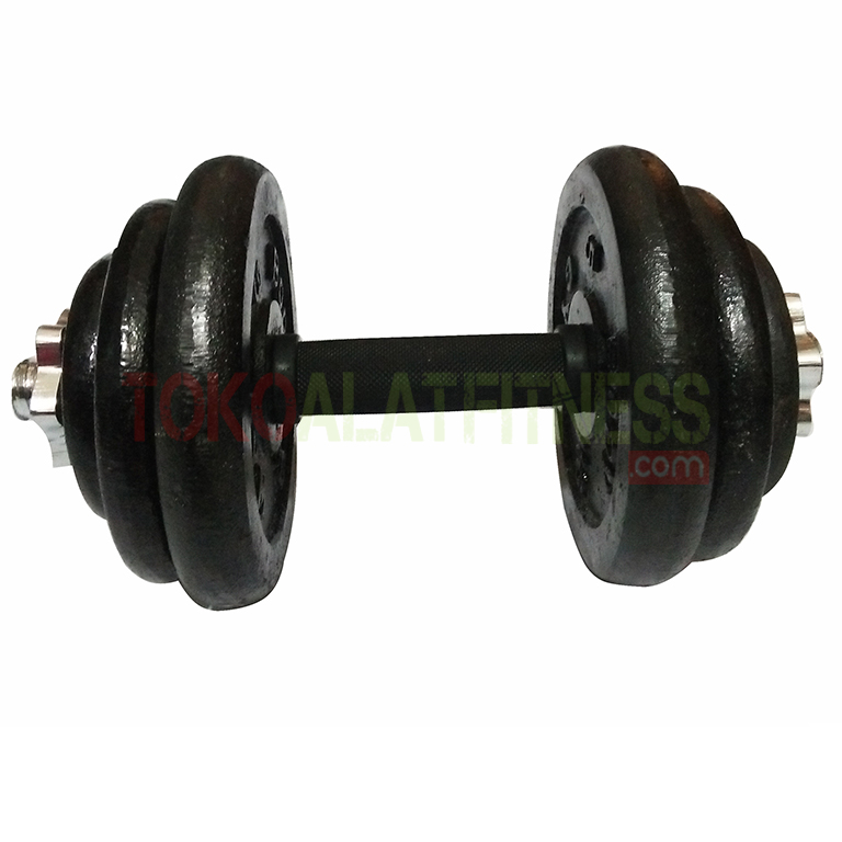barbel 20 wtm - Adjustable Dumbell Set Iron 20 kg Body Gym