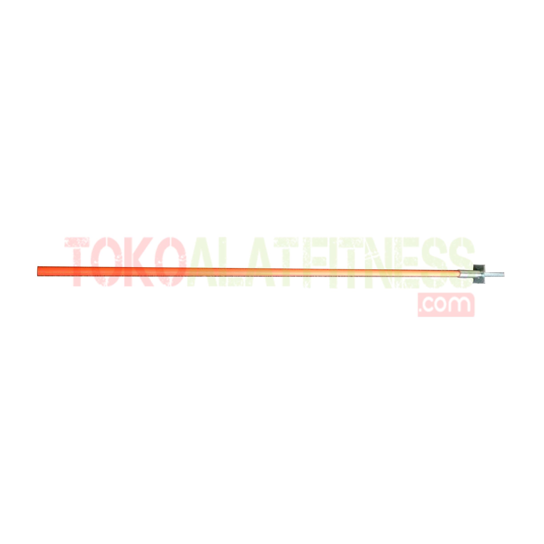 slalom pole - Slalom Pole For Football Training 145cm Orange Body Gym