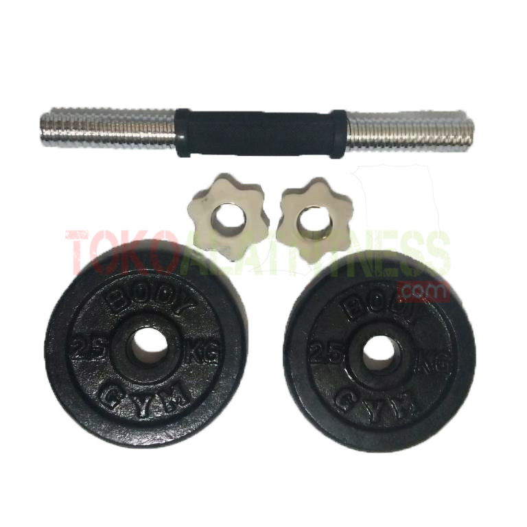 75 kg wtm - Adjustable Dumbell Set Iron 7,5 kg Body Gym