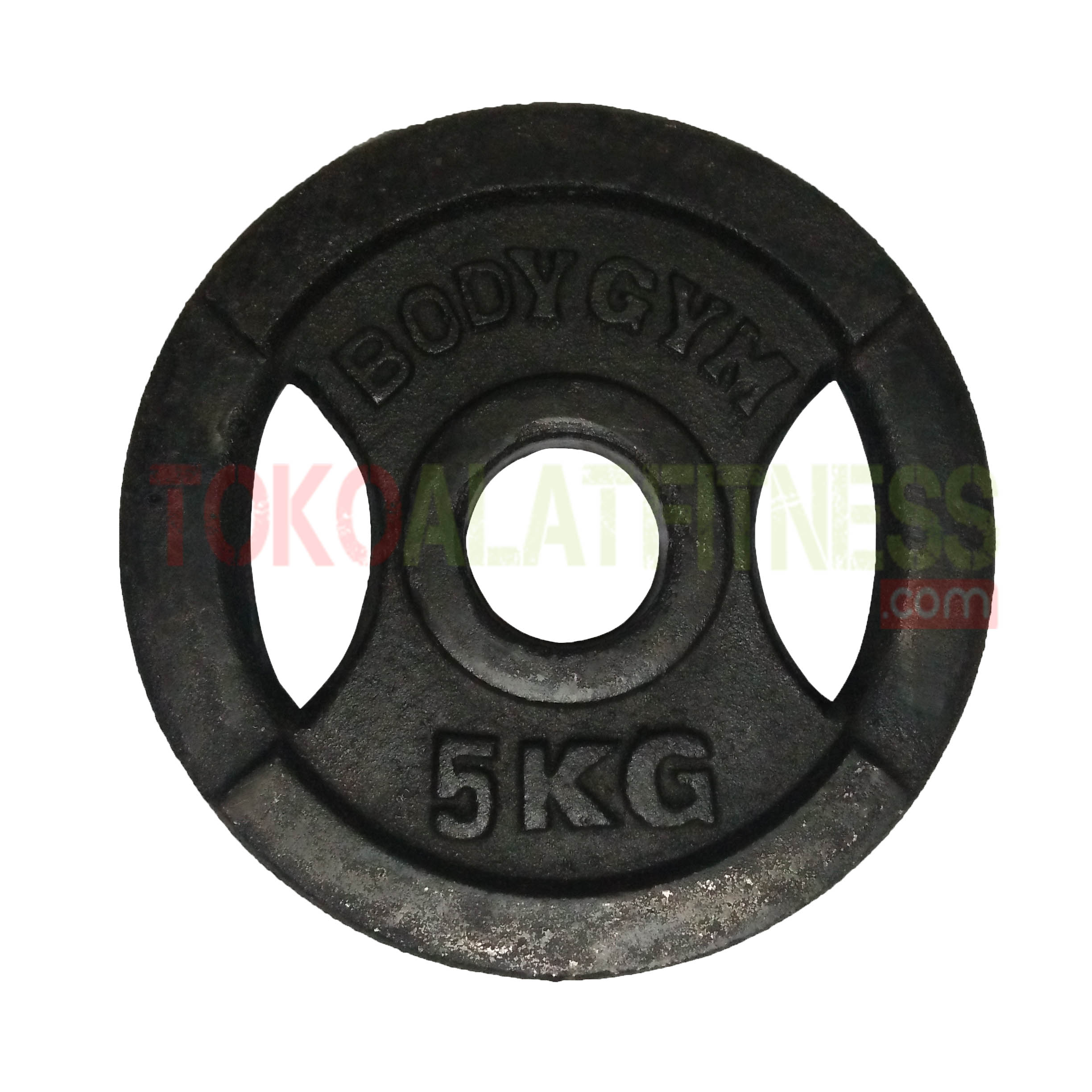 IRON PLATE 15 KG 5 CM - Iron Plate Grip 5cm 5kg, Barbel Plate Besi Body Gym