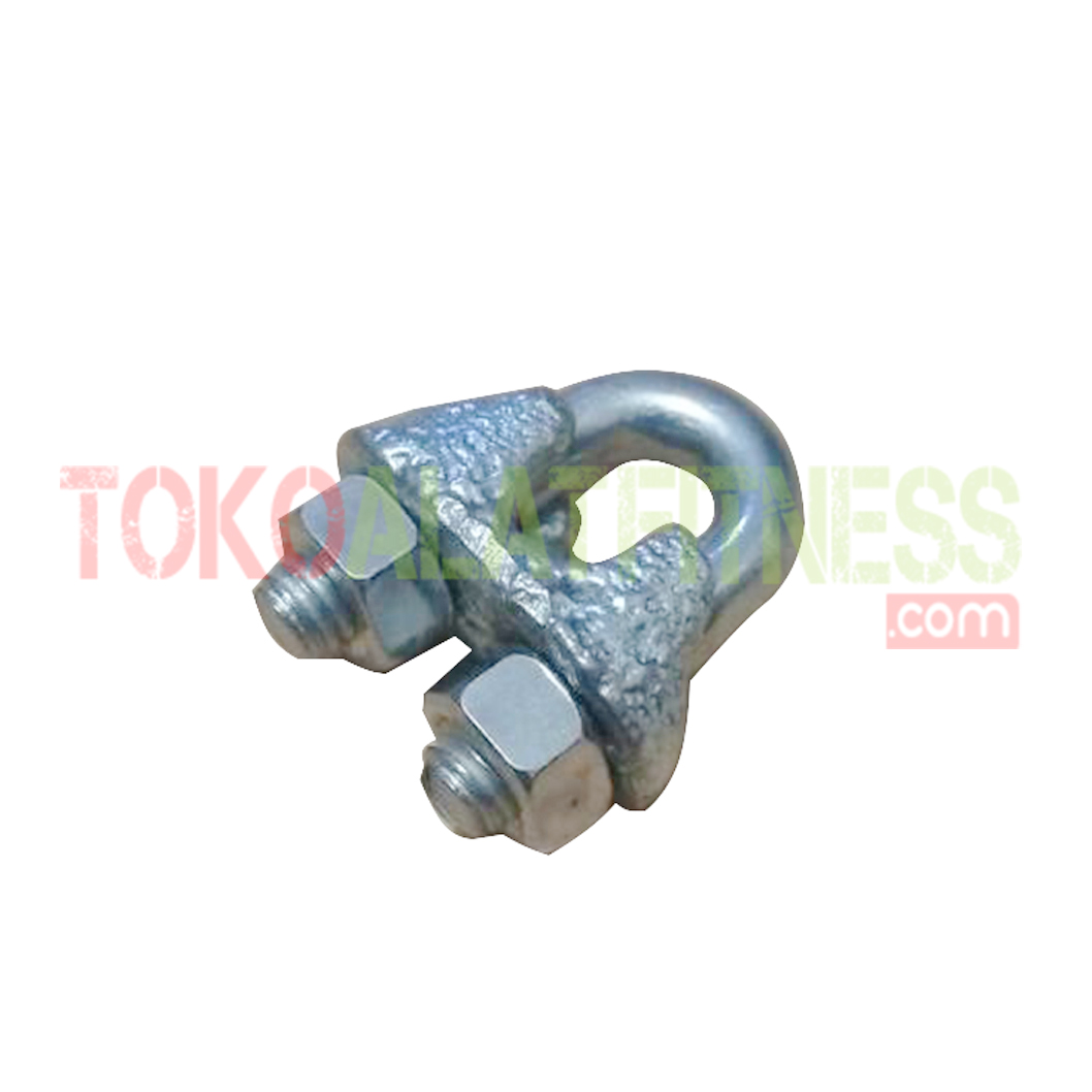wire rope clip wtm - Wire Rope Clip 5mm Body Gym