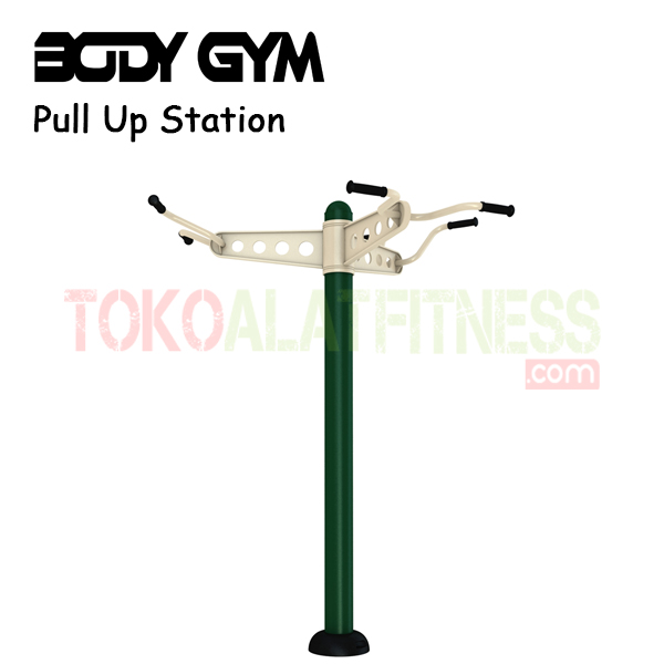 AFO 17 Alat Fitness Outdoor Pull Up Station - Alat Fitness Outdoor – Pull-up Station AFO-17 Body Gym