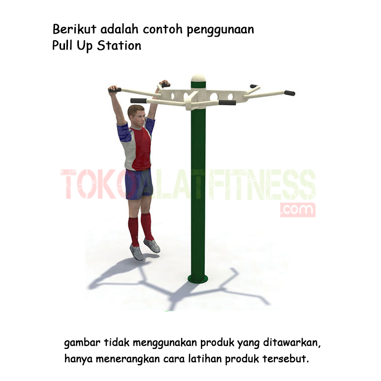 Pull Up Station - Alat Fitness Outdoor – Pull-up Station AFO-17 Body Gym