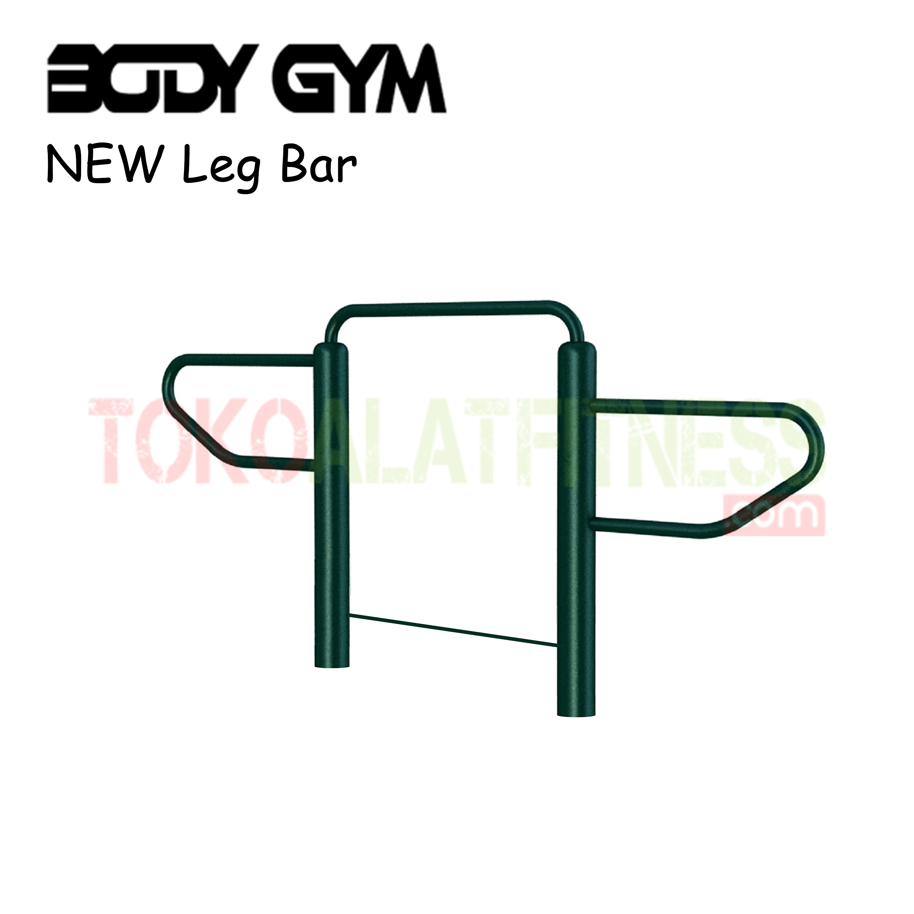 AFO 46 Alat Fitness Outdoor NEW LEG BAR - Alat Fitness Outdoor - New Leg Bar AFO-46