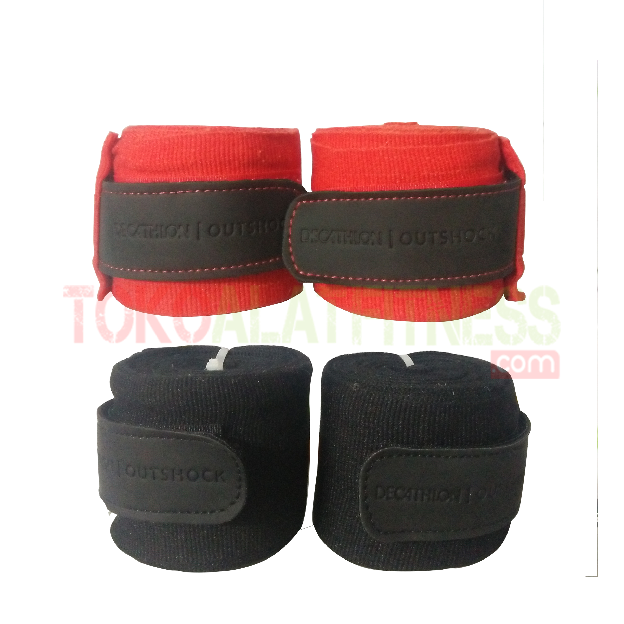 OUTSHOCK BOXING WRAP 4 M 1 1 - Outshock Boxing 500 4M, Hitam Wraps