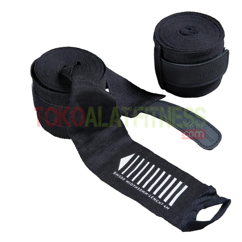 OUTSHOCK BOXING WRAP 4 M 2 - Outshock Boxing 500 4M, Hitam Wraps