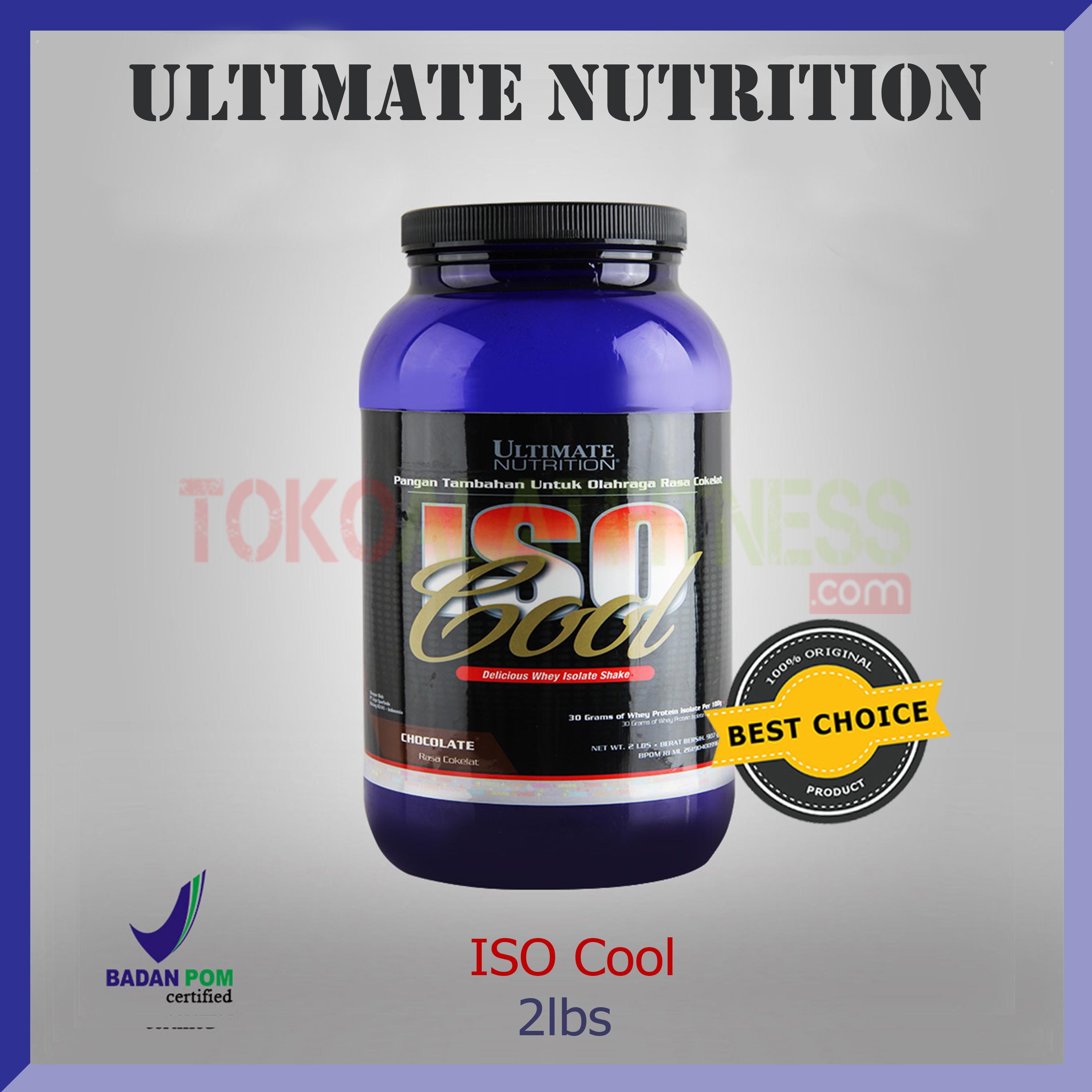 ULTIMATE NUTRITION ISO Cool 2lbs choco - Iso Cool 2Lbs