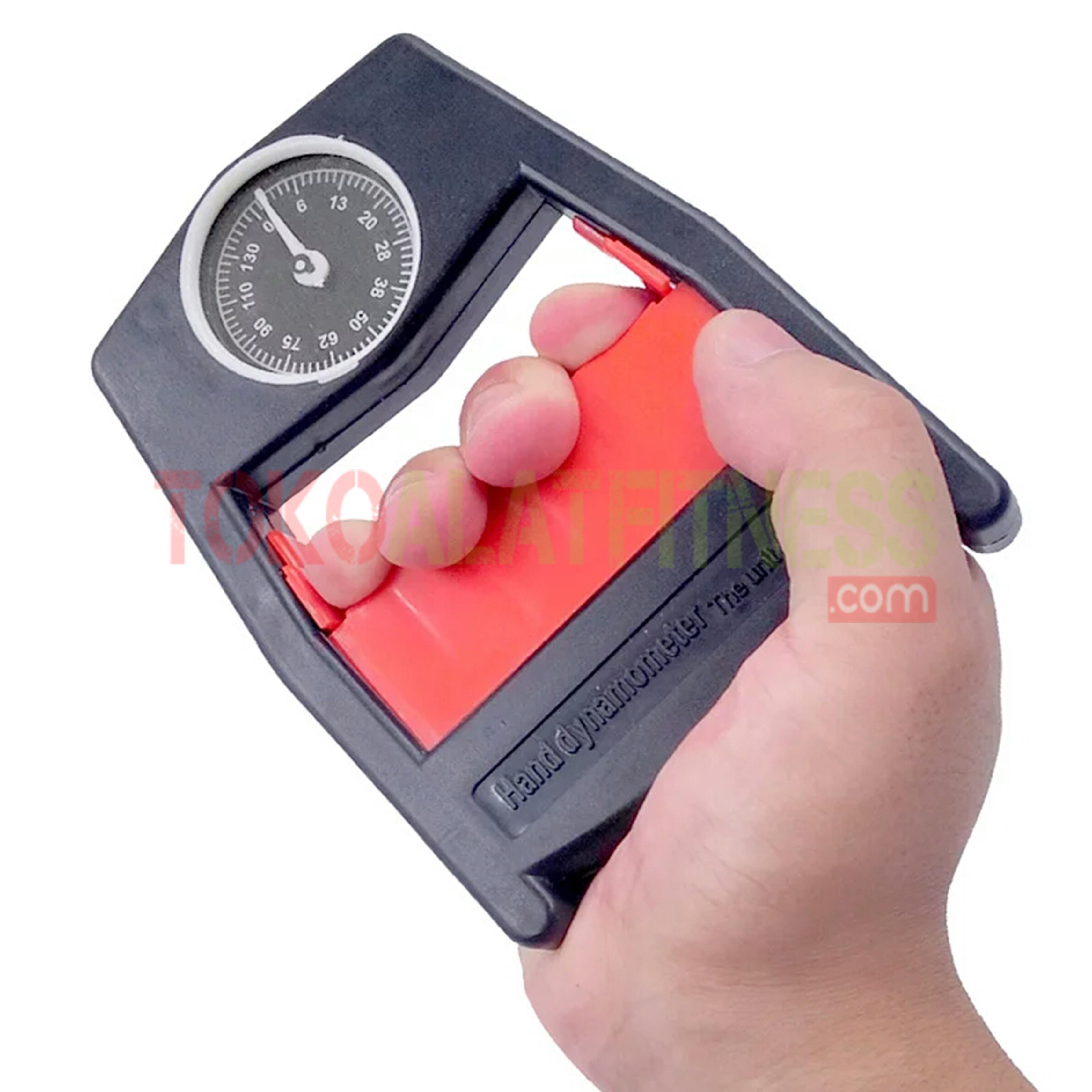 dynamometer red wtm cara pemakaian - Qingfeng Hand Grip Dynamometer Merah Domiyos