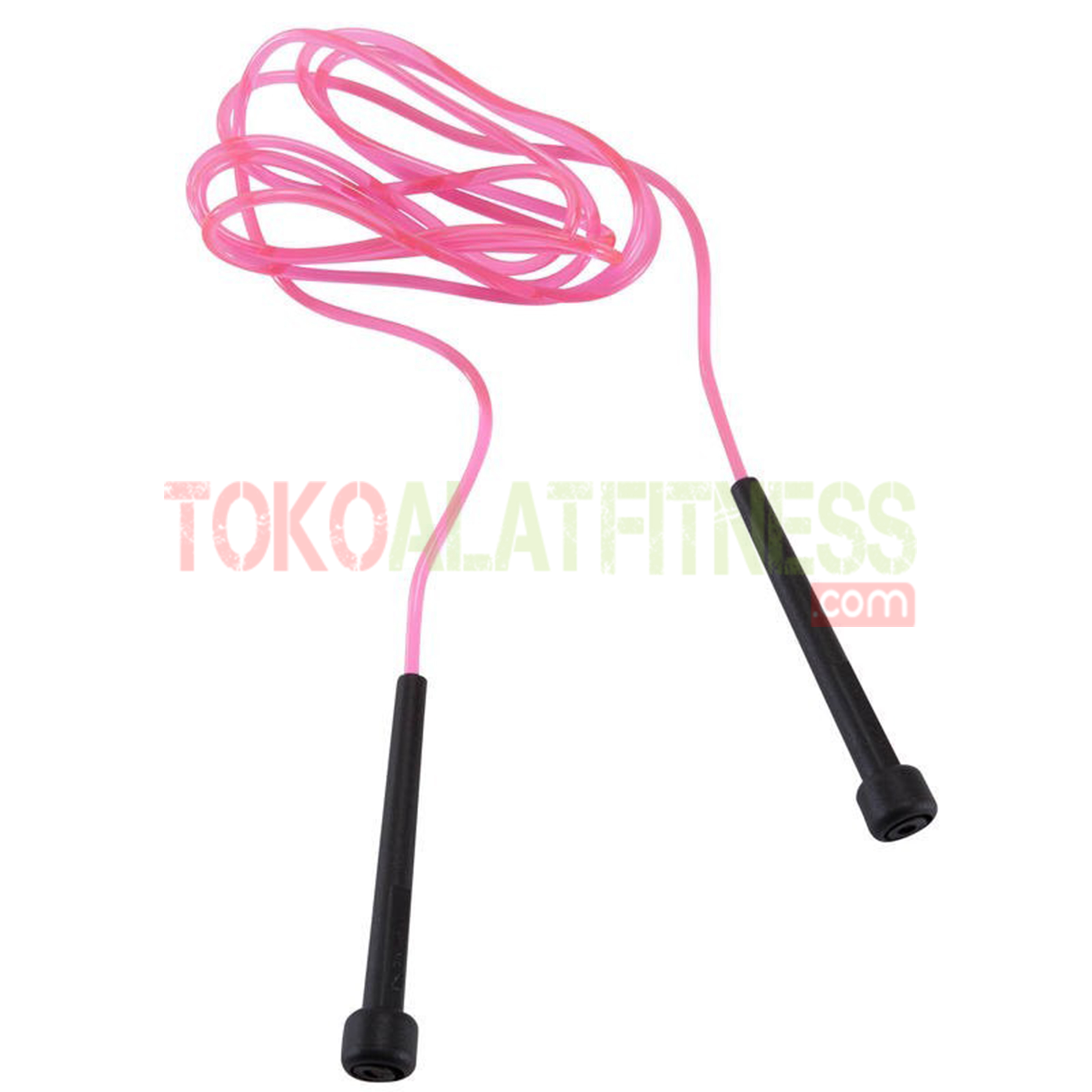 essential kids skipping rope pink wtm - Simple Jump Rope Pink Domyos