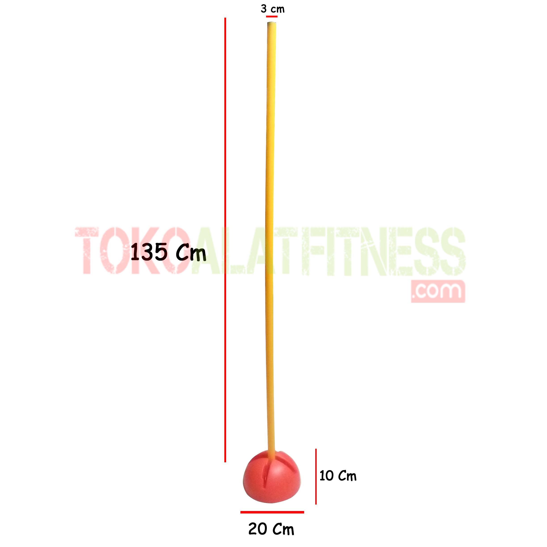 spek agility pole wtm - Agility Pole Hurdles Body Gym