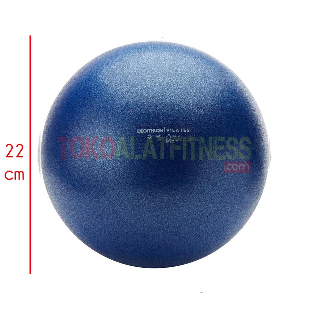 spek pilates soft ball blue dongker - Pilates Soft Ball Large 26cm Blue Domyos - DCH16A