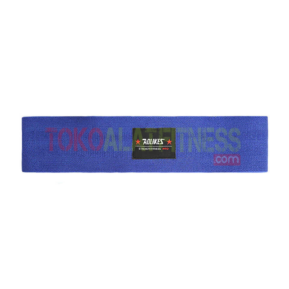 Aolikes Resistance Band wtm blue - Hips Resistance Band Blue Aolikes