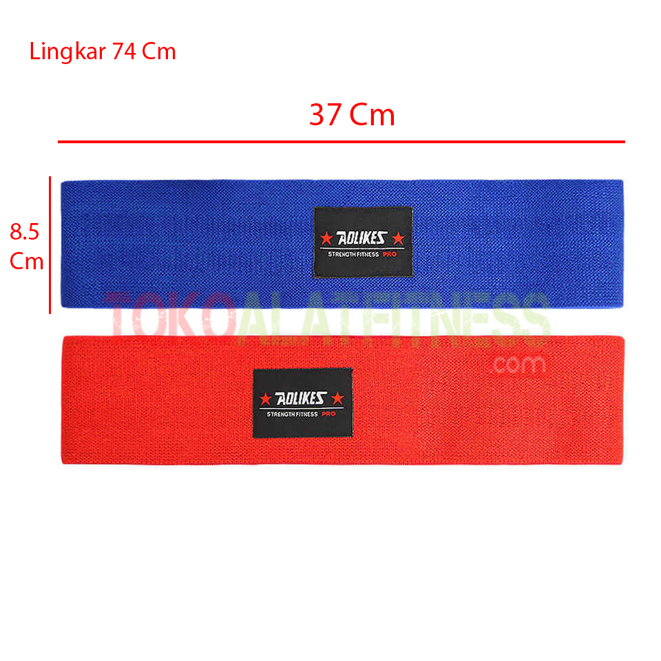 Spek Aolikes Resistance Band wtm - Hips Resistance Band Blue Aolikes