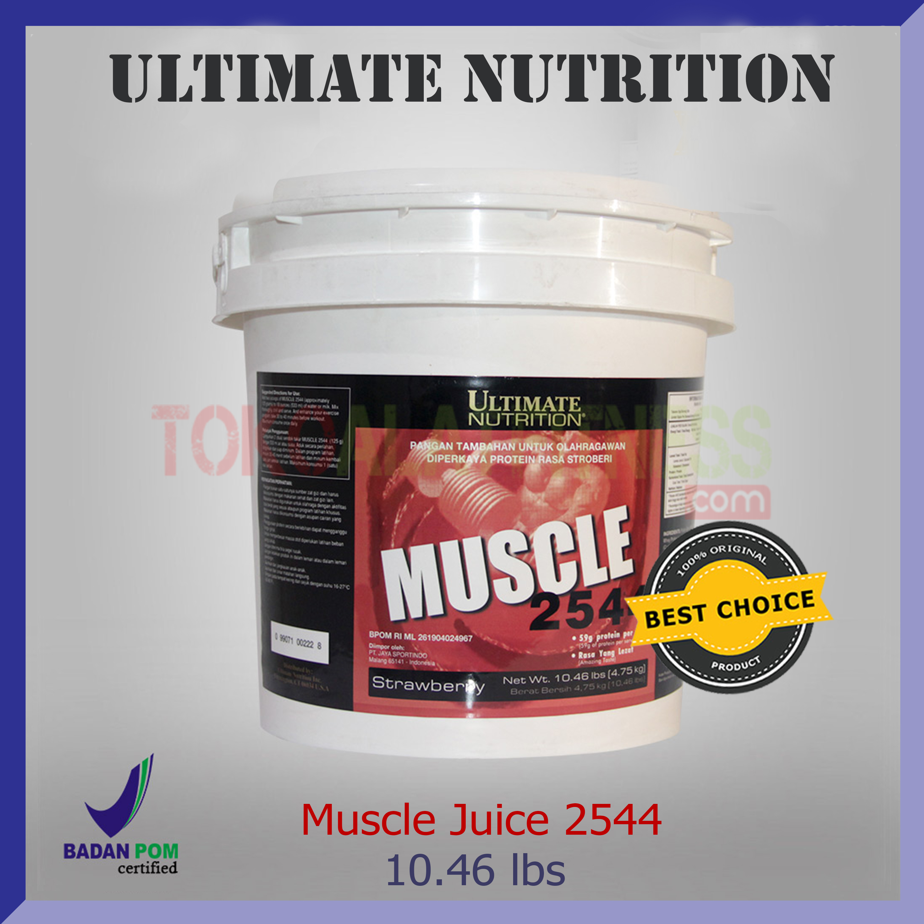 ULTIMATE NUTRITION Muscle 2544 10.46 lbs strawberry - Muscle Juice 2544 10.46 lbs