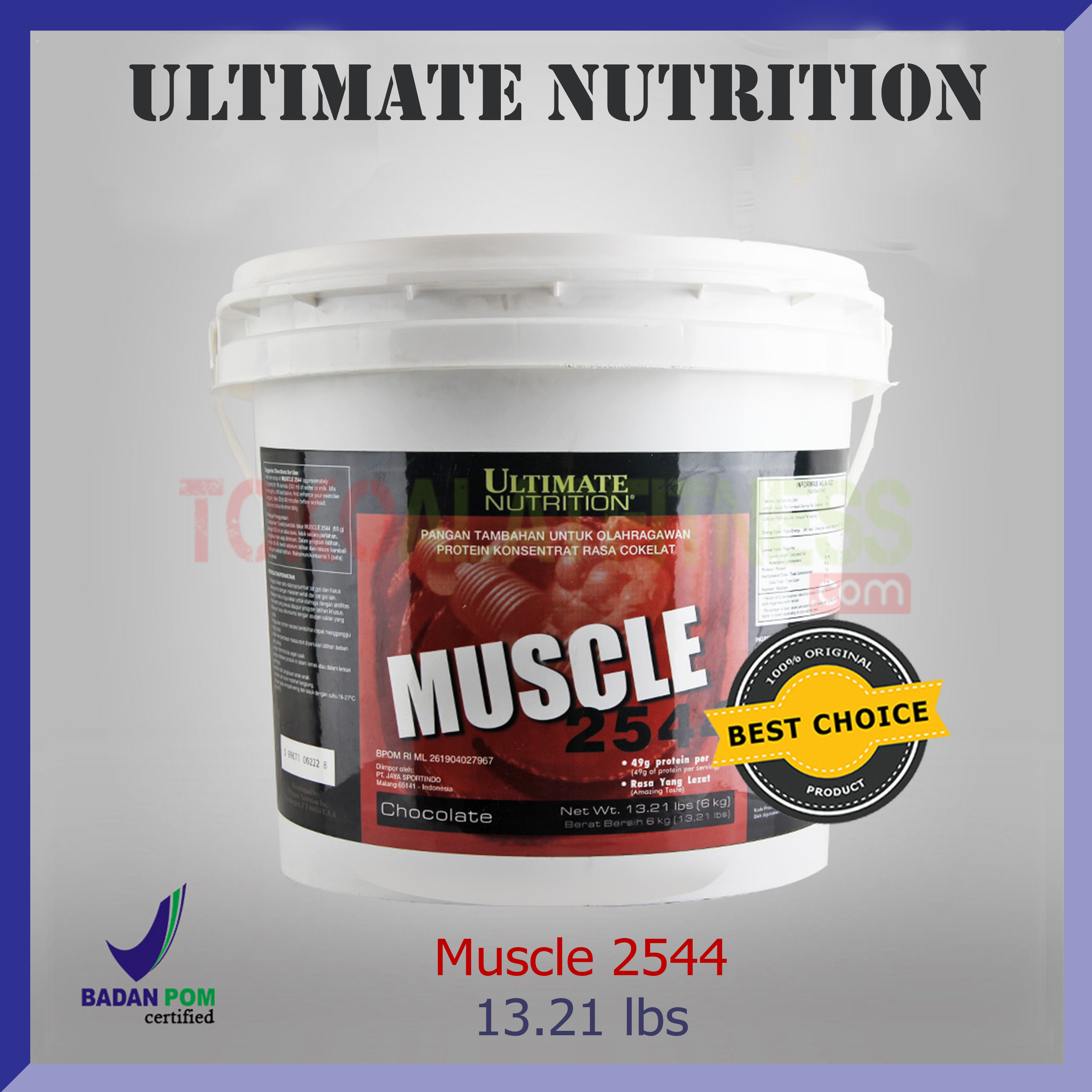 ULTIMATE NUTRITION Muscle 2544 13 - Muscle Juice 2544 13.21 lbs